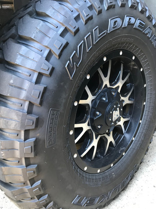 Falken Wildpeak M/T and Allied 17x9 Byron Rims