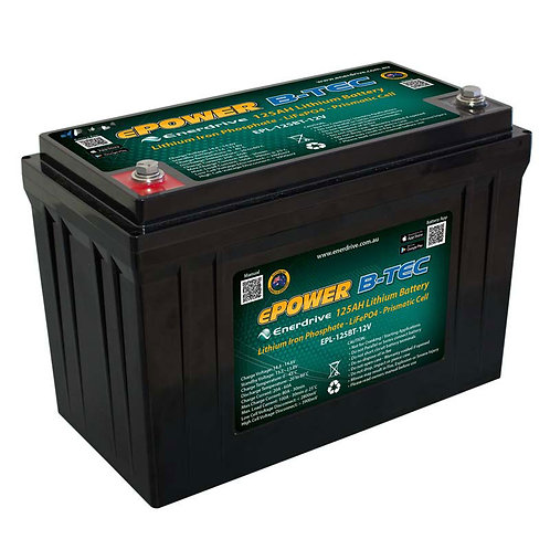 Enerdrive ePower B-TEC 125Ah Lithium-Ion