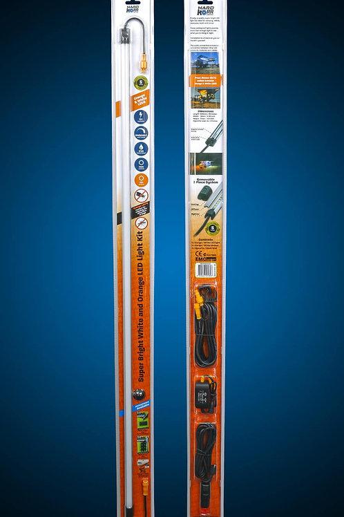 Hard Korr 100cm Orange/White LED Light Bar Kit with Diffuser