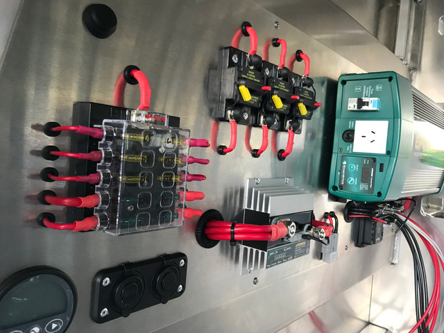 Pro Touring Concepts - 70 series electrical fitout