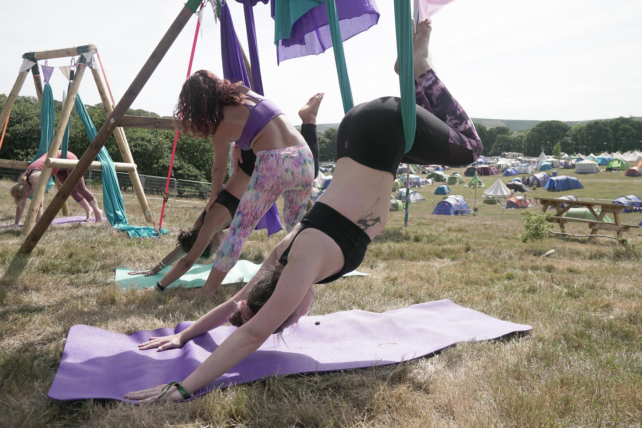Aerial Yoga Great Estate