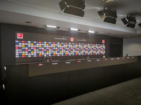 Eintracht Frankfurt: Digitalisierter Pressekonferenzraum