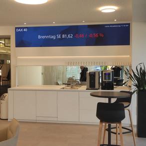 LED Ticker Tape für die Raiffeisenbank im Breisgau eG