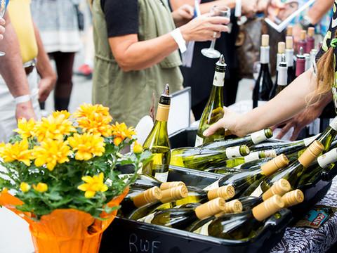Alpharetta Wine Festival Tasting Table