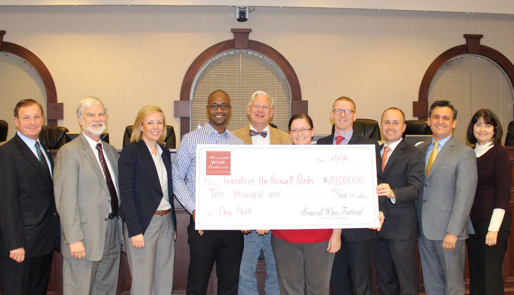 Roswell City Council Donation