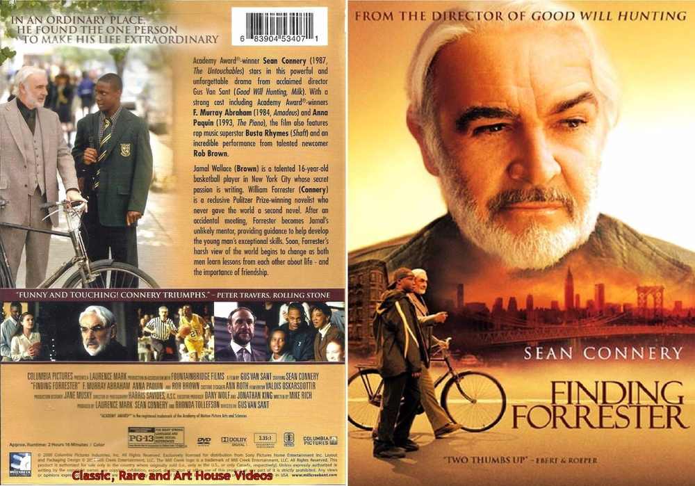 Movie Review Finding Forrester Stars Sean Connery And Rob Brown