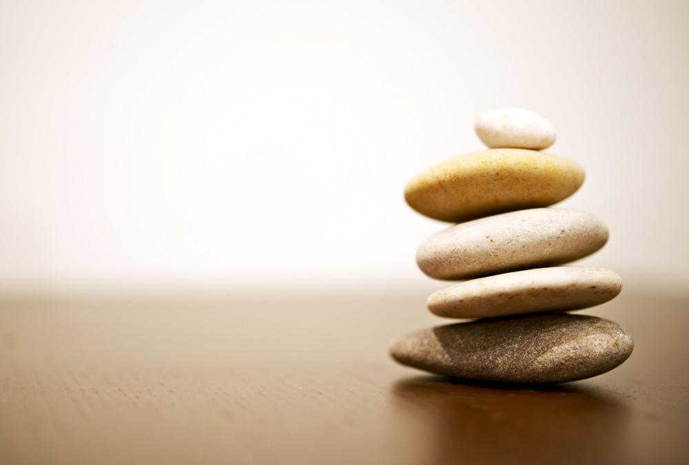 Balance. The ultimate goal.