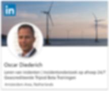 LinkedIn Profiel Oscar Diederich