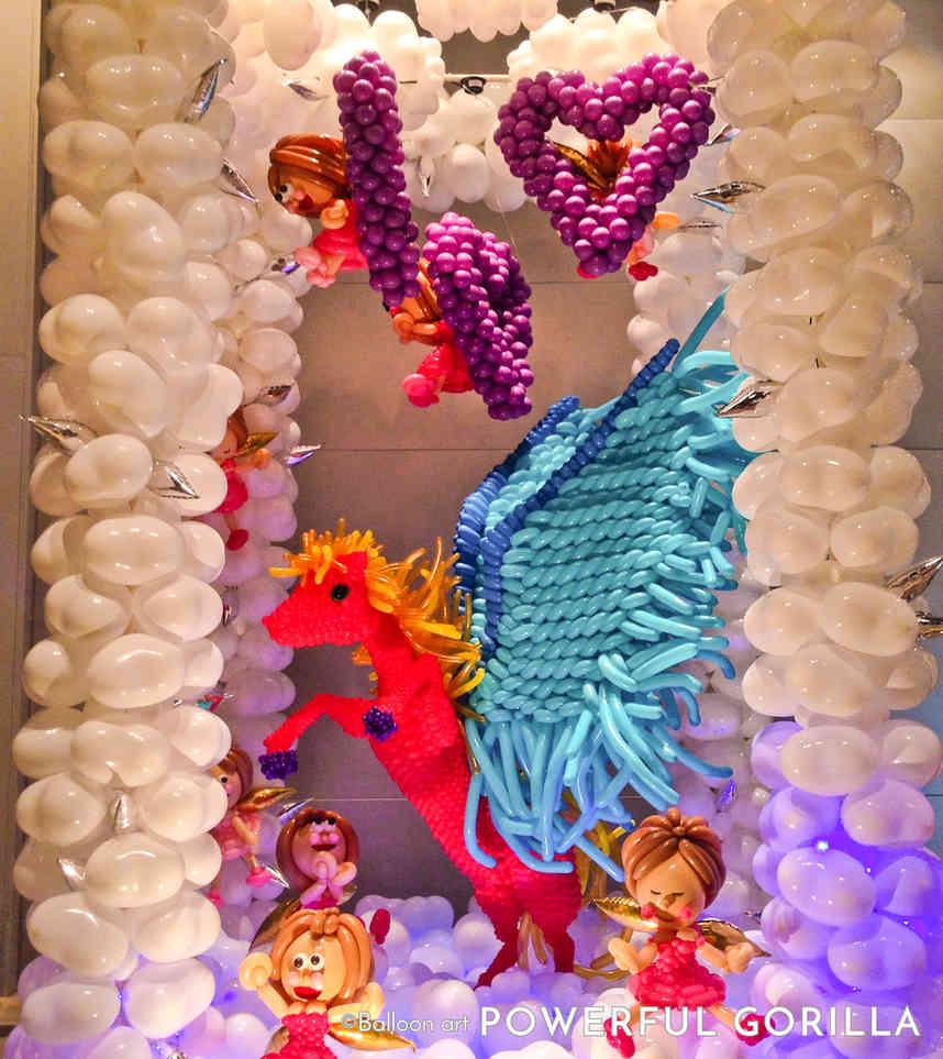 Balloon Art Display