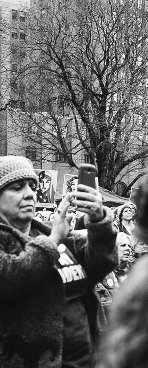 Afraid, Women's March on Lansing