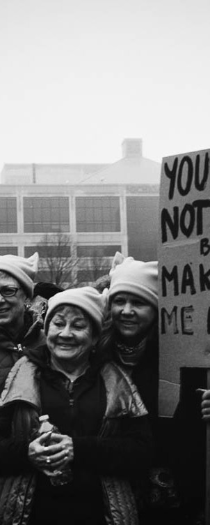 You Are Not More, Women's March on Lansing