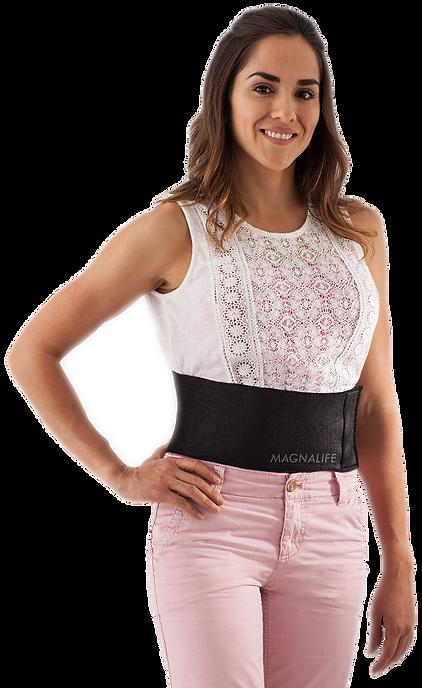 faja cintura frente modelo con marca chi