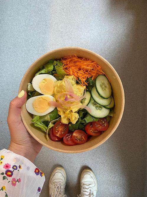 Salade kip curry