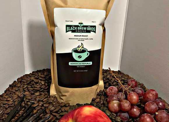 (3) 16 oz Dominican Republic Coffee