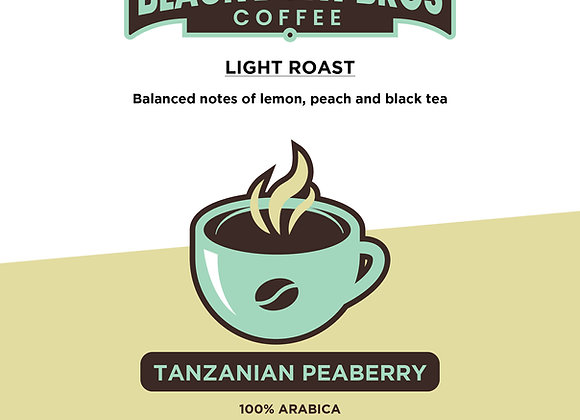 (3) 16 oz Tanzanian Peaberry Coffee