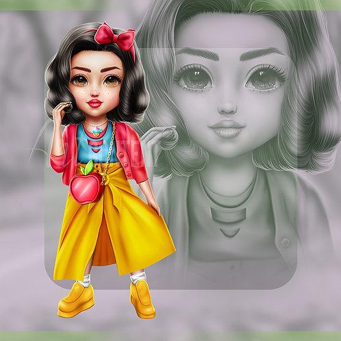 R4R Snow White Chibi