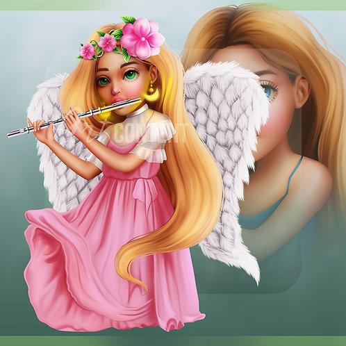 R4R Angel Chibi 2