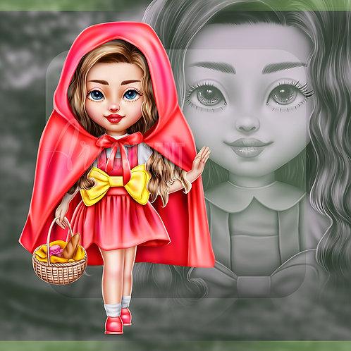 R4R Red Riding Hood Chibi