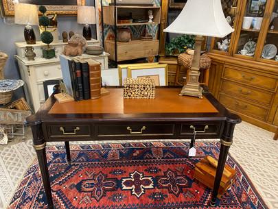 Leathertop Desk