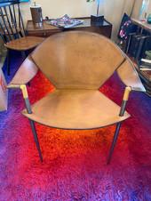 Vintage Mid Century Leather Chair