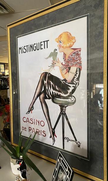Mistinguett Casino De Paris Poster 34 x 43