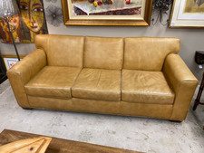 Leather Sofa - Rita St. Clair