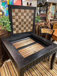 Black Game Table