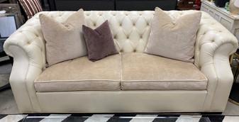 Designer Custom Tufted Sofa