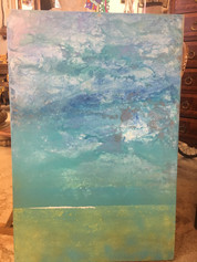Painting By Local Artist BB La 24 x 36