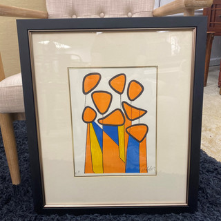 Signed Lithograph by Calder