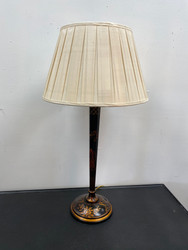 "31"" Black Asian Lamp"