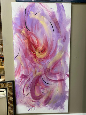 Abstract Art by Local Artist John Gover