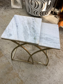 Marble Top Stacking Tables