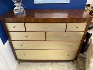 7 Drawer Art Deco Style Caracole Dresser