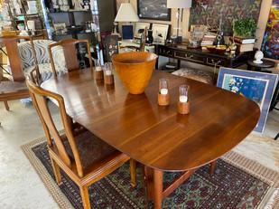 Willett Mid Century Cherry Dining Table