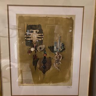 Mid-Century Aquatint Etching by Johny Friedleander