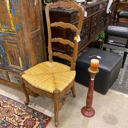 Wooden Ladderback Chair