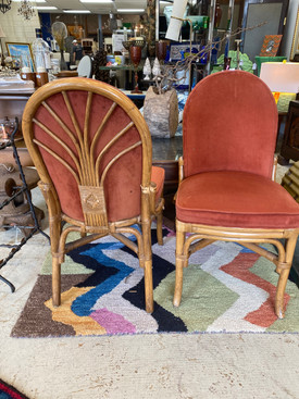 Set of 4 Vintage Tattan Shelby Williams Industries Chairs