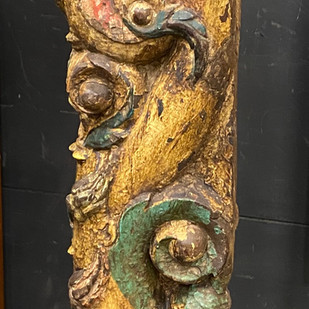 Architectural Salvaged Carved Wood from India