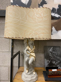 Mid Century Lamp & Shade