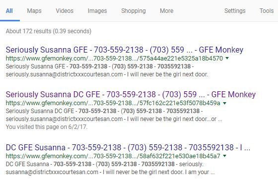 FAKE ADS from gfemonkey.com scam site