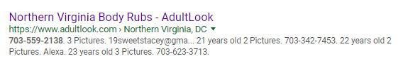 adultlook.com steals providers phone numbers