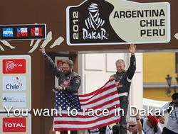You Want to Race in Dakar?