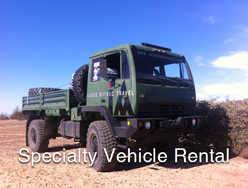 Specialty Vehicle Rental