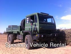 Specialty Vehicle Rental