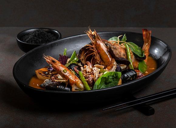ארוחת ערב זוגית + התאמת יין וסאקה בטאיזו