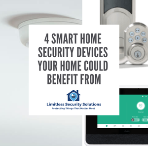 4 SMART HOME SECURITY DEVICES YOUR HOME COULD BENEFIT FROM