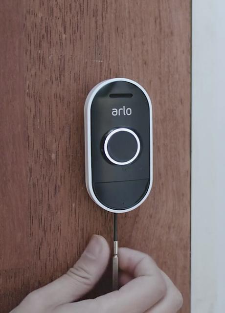 Smart Technology Arlo Doorbell Camera.pn
