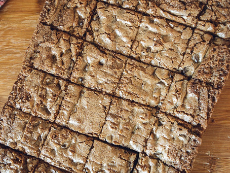 Ginger Chocolate Chip Cookie Bars