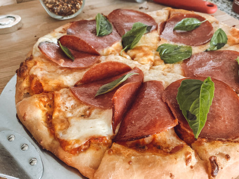 Pizza Friday - the dough recipe you'll want to keep!
